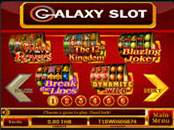 Slot 5 reel Galaxy Slot